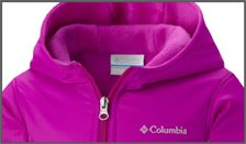 Columbia Kids Hoodies (Ages 0-8)