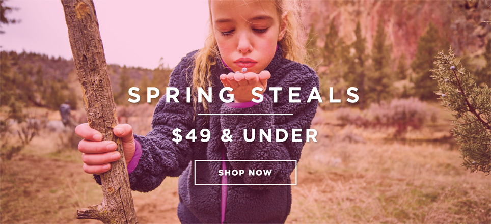 Spring Steals - $49 and Under