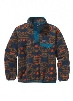 Patagonia Boys Lightweight Synchilla Snap-T Pullover