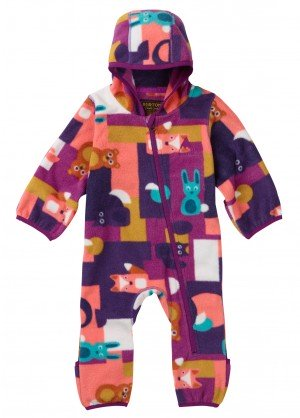Burton Minishred Fleece Onesie - WinterKids.com