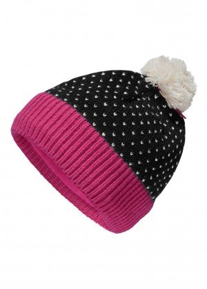 The North Face Youth Pom Pom Beanie - WinterKids.com