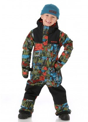 Burton Boys Minishred Striker One Piece - WinterKids.co