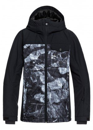 Quiksilver Boys Mission Block Youth Jacket - WinterKids.comQuiksilver Boys Mission Block Youth Jacket - WinterKids.com