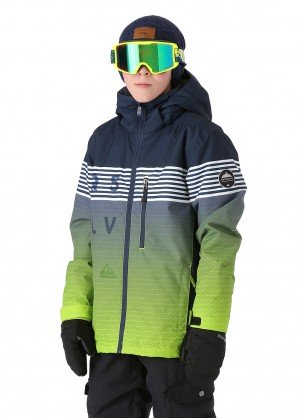 Quiksilver Boys Mission Engineered Youth Jacket - WinterKids.com