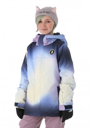 Volcom Girls Sass'N'Fras Insulated Jacket - WinterKids.com