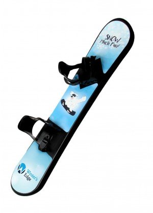 "Winters Edge ""Snow Much Fun"" Kids Plastic Snowboard - WinterKids.com"