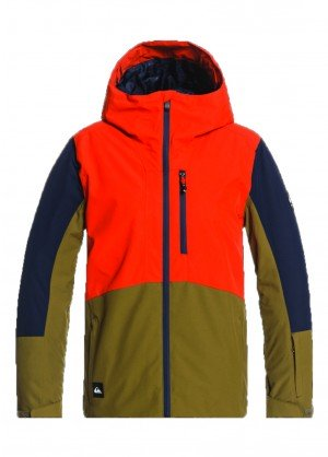 Quiksilver Ambition Youth Jacket - WinterKids.com
